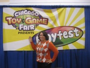 Me at the CHITAG show