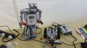 This robot and car also run from Raspberry pi